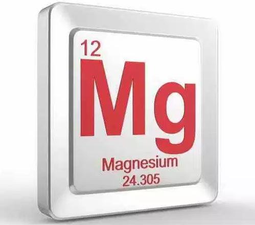 символ Mg