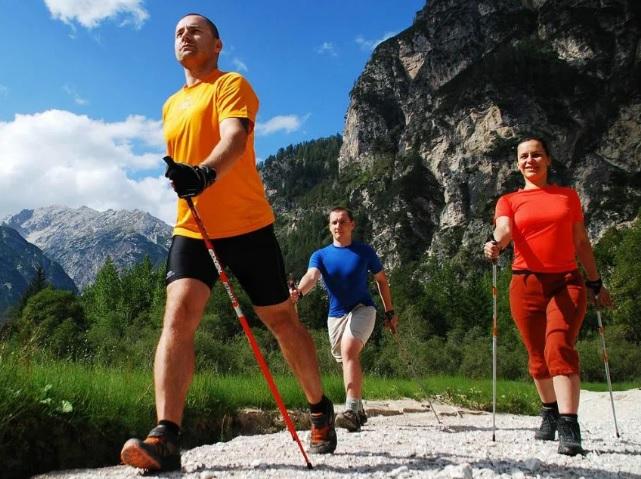 Как выбрать палки для скандинавский ходьбы