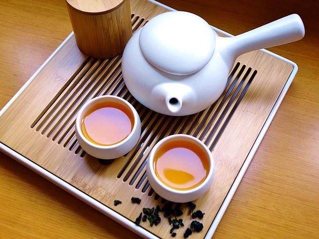 Зелёный чай вместо кофе