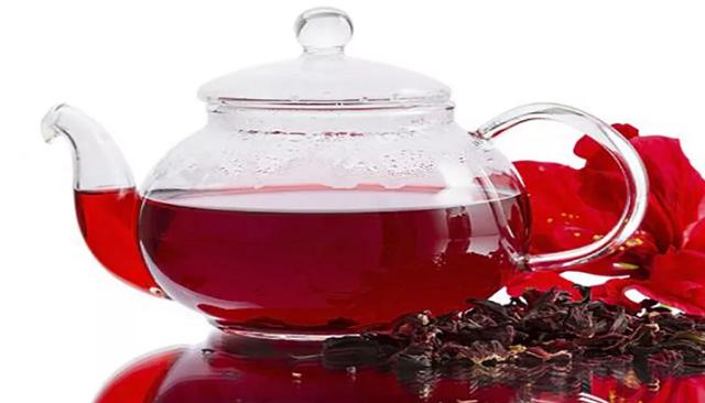 Чай каркаде, красный чай