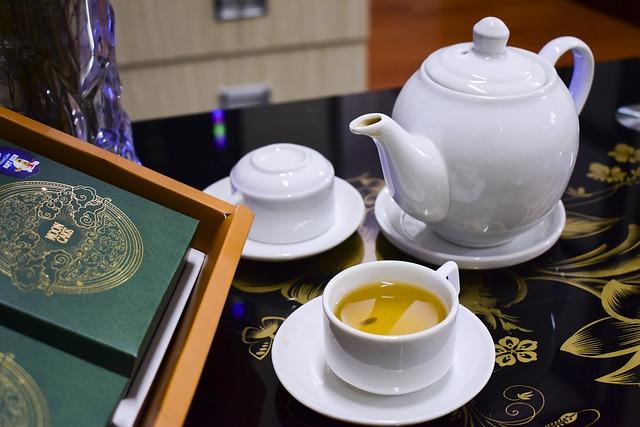 Зелёный чай. Полезные свойства.