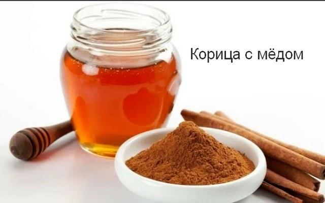 Корица с мёдом для здоровья