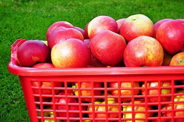 Полезные элементы в составе яблок