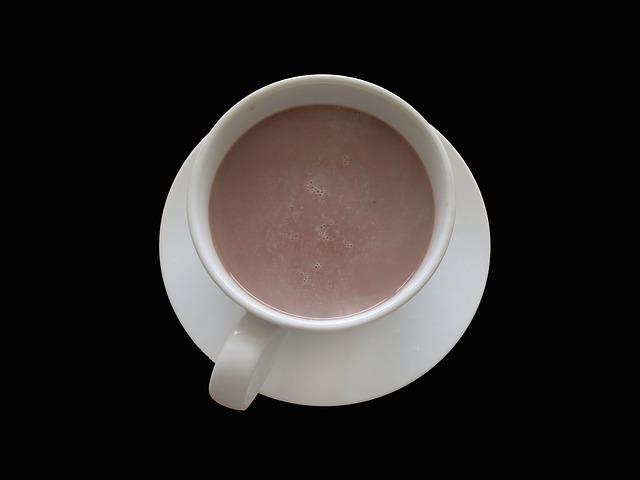 напиток из какао и куркумы